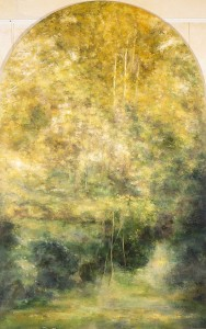 cathedral of light  2,00x 140cm